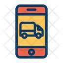 Truck Phone Delivery Icon