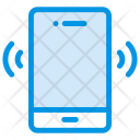 Phone Vibration Call Mobile Icon
