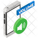 Phone Volume Mobile Volume Mobile Sound Icon
