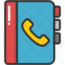 Phone Directory Account Icon