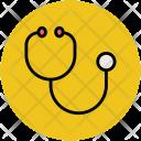 Phonendoscope Medical Exam Icon