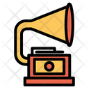 Phonograph Record Gramophone Icon