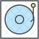Phonograph Vinyl Melody Icon