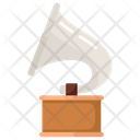 Phonograph Music Player Record Player Icon