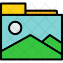 Photo Folder Art Icon