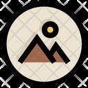 Ui Ux Landscape Icon
