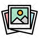 Photo Gallery Polaroid Icon