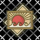 Photo Sun Sea Icon