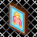 Photo Woman Frame Icon