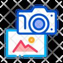 Photo Gallery Creativity Icon