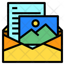 Photo Mail Letter Icon