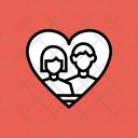 Photo Couple Love Icon
