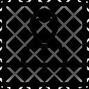 Profile Photo Polyroid Icon
