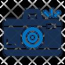 Photo Camera Discount Label Icon