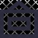 Photo Frame Hanging Icon