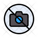 Notallowed Stop Camera Icon