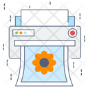 Photo Print Printing Machine Typesetter Icon