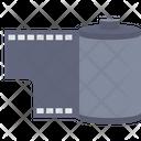 Camera Roll Film Reel Strip Icon