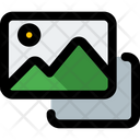Photo Stack Photos Images Icon