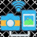 Camera Photo Transfer Icon