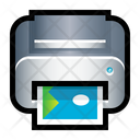 Photocopy Printer Machine Icon