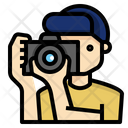 Photographer Occupation Profession Icon