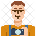 Occupation Avatar Photographer Icon