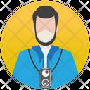 Photographer Cameraman Lensman Icon