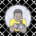 Photographer Guy Man Icon