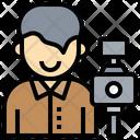 Photographer Photo Camera Electronics Icon