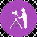 Photographer Equipment Tool Icon