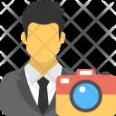 Photographer Cameraman Cinematographer Icon
