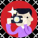Photographer Avatar Job Icon