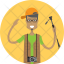 Photographer Character Profession Icon