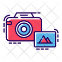 Photographic Digital Camera Camera Photographic Equipment Icon