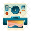 Photography Polaroid Camera Icon