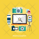 Photography Computer Tecnology Icon