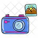 Camera Camcorder Capturing Images Icon