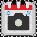 Camera Photo Calendar Icon