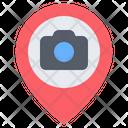 Photography Location Camera Photo Icon