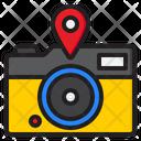 Photography Location Camera Gps Icon