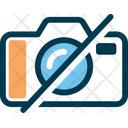 No Photo No T Allow Camera Camera Prohibited Icon
