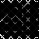 Photos Ruler Design Icon
