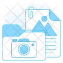 Folder Images Images File Media Archive Icon
