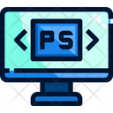 Photoshop Photo Editing Designing Icon