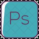 Photoshop Ps Design Icon