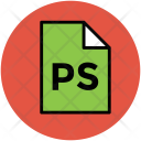 Photoshop File Ps Icon