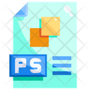 Photoshop File Ps Psd Icon