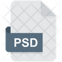 Photoshop Psd File Format Icon