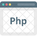 Php Php Code Source Icon
